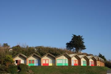 beach chalets