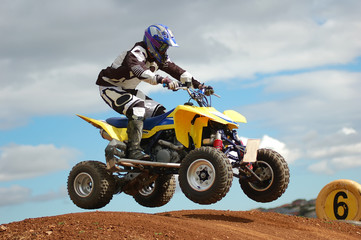 Wall Murals Motor sports Quad Bike Racing