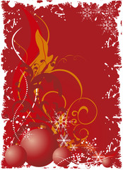 christmas background - vector