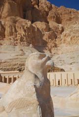 Statue of the Falcon god Horus