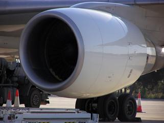 Motor de avión Fototapete