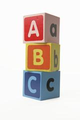 building blocks  A B C