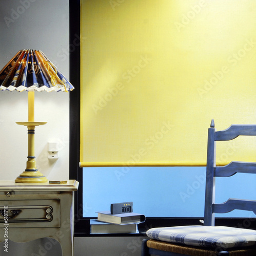 store jaune d 39 int rieur immagini e fotografie royalty. Black Bedroom Furniture Sets. Home Design Ideas