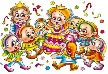7 gnomes