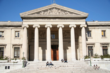 Marseille, palais de justice