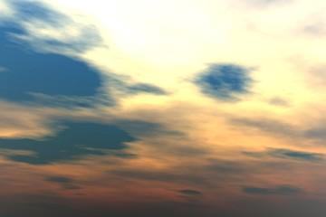 Sunset clouds - cloudscape