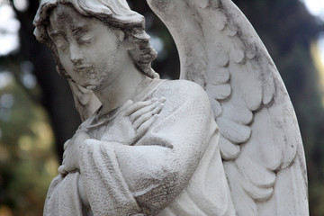 Angel Statue, Cemetery, Rome
