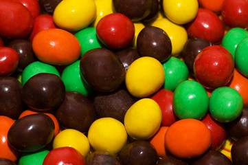 Various colourful sweets - can be used as background