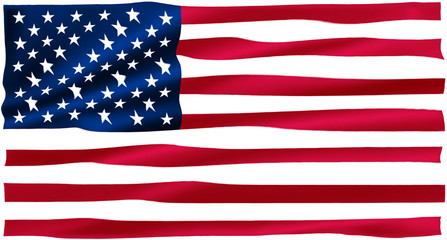 ripples in the us flag