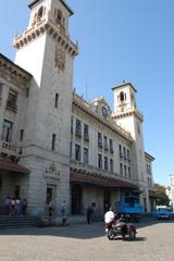 Railway station, Havana, Cuba