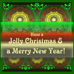 Jolly Christmas Merry New Year