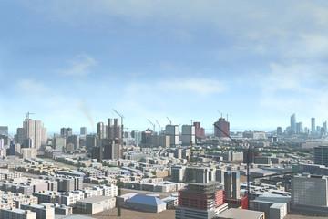 Imaginary city 218