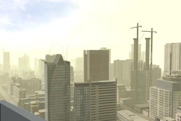 Imaginary city 206