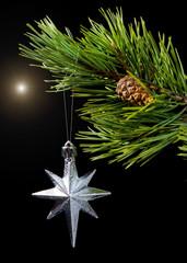 Christmas bauble ,cristmas star