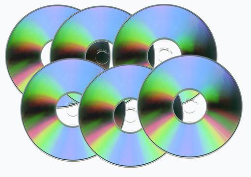 pack de six CD