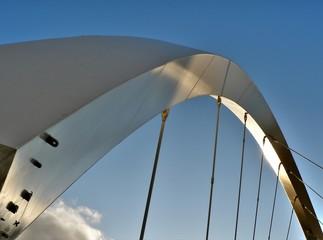 White arch bridge