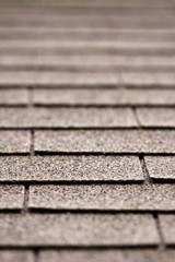 Abstract background of a roof - depth of field