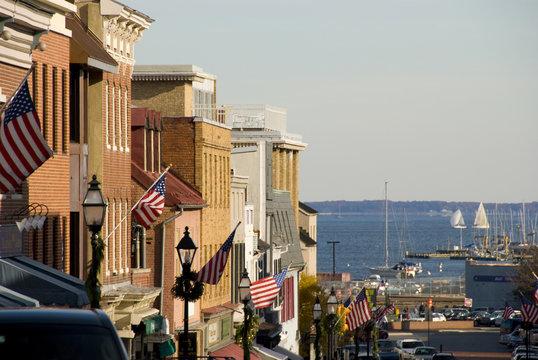 Annapolis Maryland Main Street