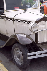 Old antique cars