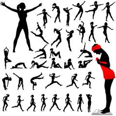 Fitness Women Calisthenics Aerobics Dance