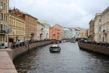 The center of St.-Petersburg