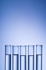 Test tubes.