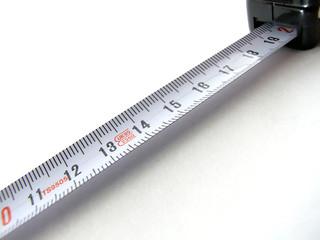 isolated meterstick