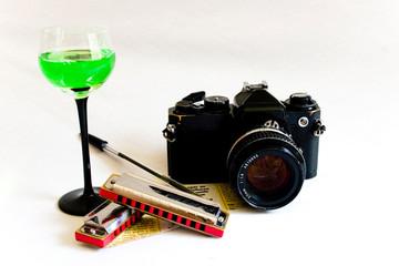 Câmera e Taça