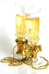 new year champagne