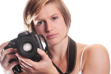 Jeune femme photographe 4