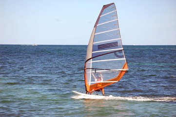 Windsurfing in South Florida
