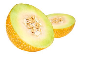 Fresh yellow melon