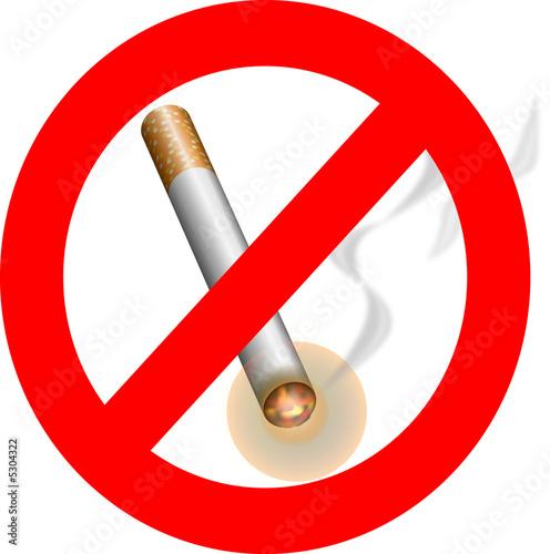 Info sur l'interdiction de fumer