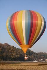 Striped balloon