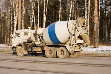 concrete carrier truck of trucks series
