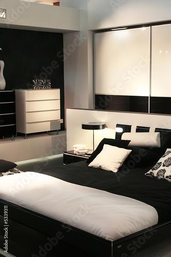 Design of modern sleeping room stock photo and royalty for Sleeping room design