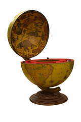 Ancient globe with a secret