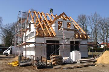 Baustelle - Richtfest