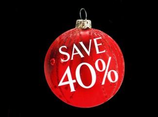 sign. save 40%. . Christmas sale