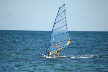 Windsurfing on the Atlantic