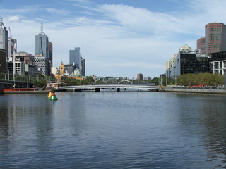 Melbourne City on the Yarra