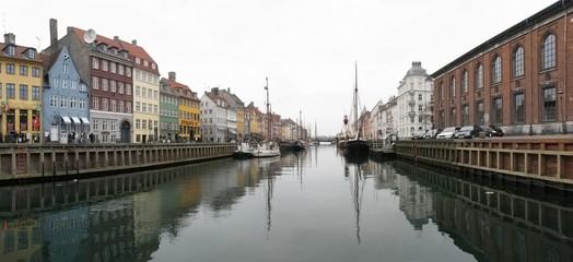 NYhavn - historic harbour of Copenhagen, Denmark