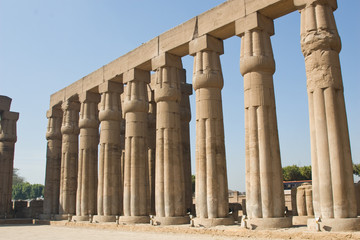 Colonnade of the Temple of Luxor
