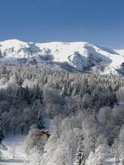 montagne premiere neige
