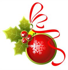 ornate christmas ball