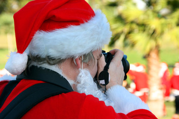 Santa Claus photographer