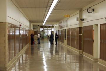 High school halls