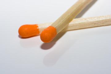 *Streichholz-Orange*