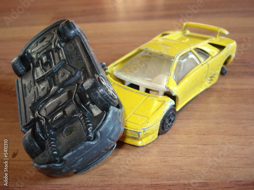 Toy Car Crash Iii Stock Photo And Royalty Free Images On Fotolia