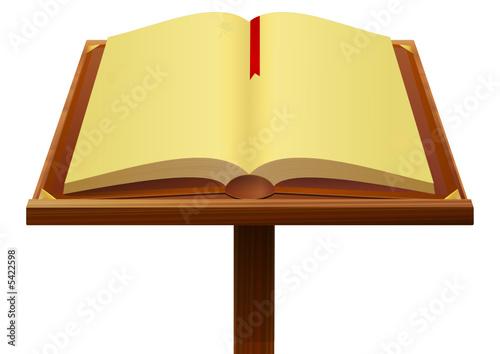 Livre Ancien Ouvert Fichier Vectoriel Libre De Droits Sur